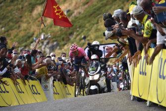 Daniel Felipe Martinez wins stage 13.