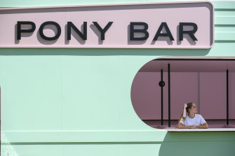 The Pony Bar, one of the entertainment options at this year's Melbourne Cup.