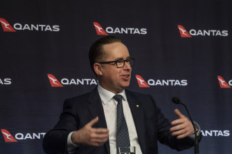 """It feels like there's no rule-based decisions, it's just there to inform maybe the politics."": Qantas chief executive Alan Joyce."
