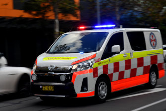 Three paramedics in Sydney's south-west have tested positive for COVID-19.
