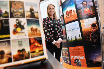 Kanopy founder Olivia Humphrey brings a library's worth of movies to library card-holders for free.