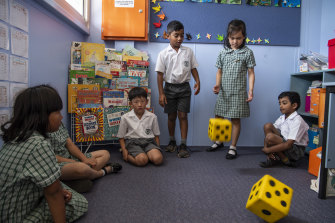 Carlingford West's students make strong progress in numeracy.