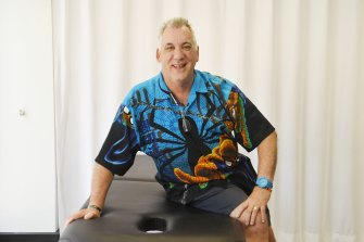 Retired teacher Ian McLean is learning a new skill as a remedial masseur but wants to go back into the workforce on his own terms.
