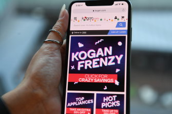 Kogan shares bounced back on Wednesday.