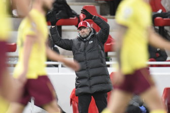 Liverpool manager Juergen Klopp took full responsibility for the shock loss.