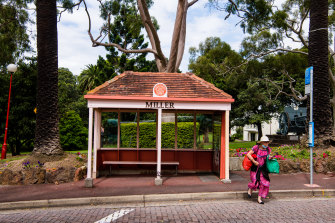 A number of North Sydney bus shelters have been heritage listed.