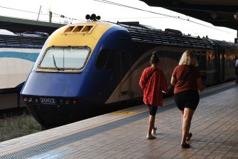 Many XPT regional train services struggle to reach their targets for punctuality.
