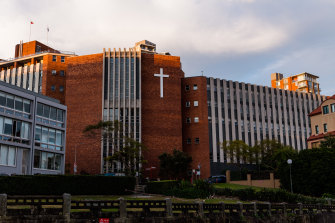 St Aloysius' College in Milsons Point is due to be renovated.
