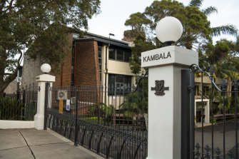"Kambala principal Shane Hogan and school council president Ainslie van Onselen wrote to the Rose Bay school's community on Wednesday afternoon, saying they were committed to addressing ""issues of concern""."