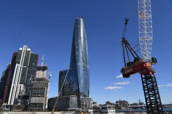 The Star says it will consider buying just Crown's new Sydney casino if its rival has to split up its business.
