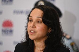 NSW Deputy Chief Health Officer Dr Marianne Gale.