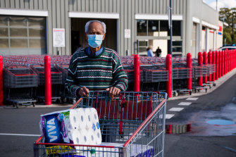 Casula resident Ano Sei said he would be staying home and remaining vigilant as the local coronavirus cluster grew on Monday.