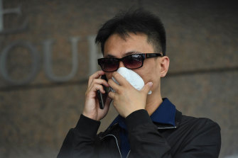 The case against former Crown croupier Michael Hou has collapsed.