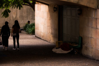 The number of rough sleepers across the state is 14 per cent lower than a year ago.