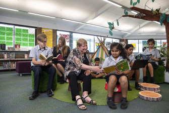 Toongabbie Christian School's head of library services, Kerry Pope, is among the association of teacher librarians calling for higher staff numbers in schools.