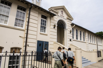 The prestigious Scots College in Sydney's Bellevue Hill was a recipient of community infrastructure funding.