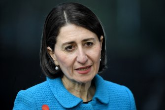 Gladys Berejiklian said she doubts restrictions will ease over the weekend.