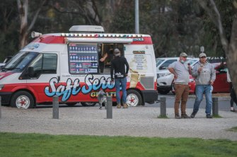 The classic ice cream truck has returned to the streets.