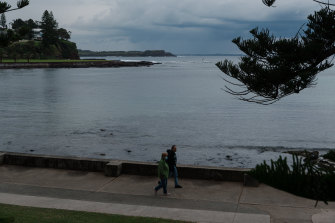 Business is very quiet in Kiama and the south coast which relies on visitors from Sydney.