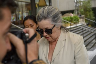 Mark O'Brien's wife, Therese O'Brien plead guilty to charges of dealing with proceeds of crime.