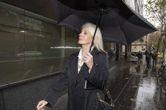 Semmens, seen outside court in June,  seemed dismissive of the legal process.