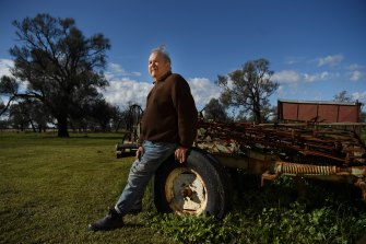Moama landowner Guy Anderson said he was shocked the council had bought the land for the little-known company.