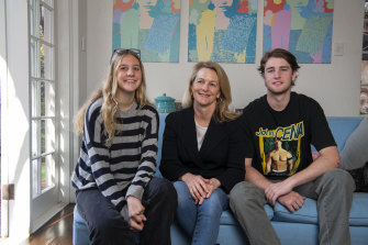 Sophie McCarthy booked in her children Lara Green, 18, and Elias Green, 20, to speak with their GP about getting AstraZeneca vaccines.