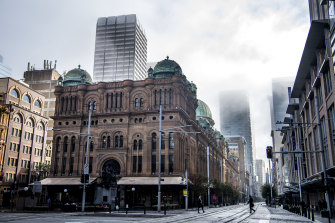 George Street was nearly empty on Tuesday, but the city is about to get busier.