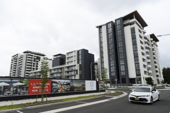 A rectification order has been handed to the developer of Ovation Quarter at 29 Carter Street in Lidcombe.