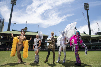 Sydney's gay and lesbian Mardi Gras will be held at the SCG this year.
