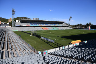 Central Coast Stadium will host New Zealand, Newcastle and Manly.