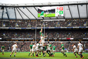 England were too good for Ireland at Twickenham.