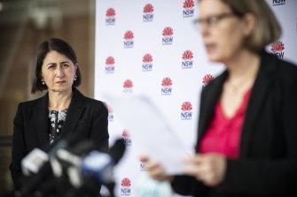 Premier Gladys Berejiklian said NSW was trying to strike the right balance with COVID advice.