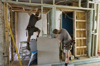 Home renovations are set to be permitted earlier than scheduled.
