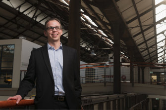 SpeeDx CEO Colin Denver.