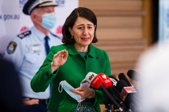 NSW Premier Gladys Berejiklian still plans to ease some lockdown restrictions for fully vaccinated people once the state delivers 6 million doses.