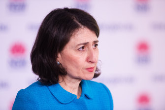 NSW Premier Gladys Berejiklian outlines the state's three-stage plan to reopen.