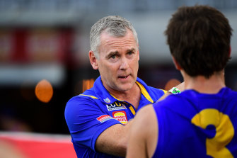 Eagles coach Adam Simpson says the club is yet to determine who will travel to the Gold Coast.