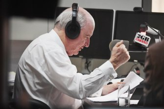 Radio presenter Alan Jones has accepted Nine's offer, with the takeover expected to be imminent.