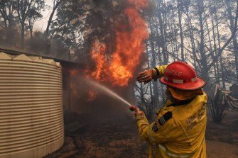 The Rural Fire Service will not lodge a submission of its own to the Bushfire Inquiry.