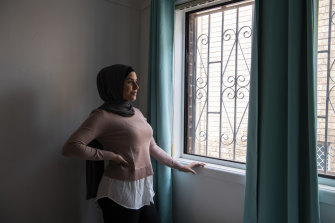 Ola Haydar at her Arncliffe home.