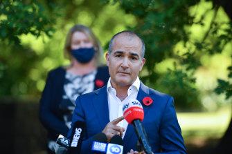 Deputy Premier and Mental Health Minister James Merlino.