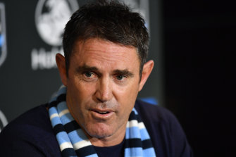 NSW coach Brad Fittler says people are showing little patience.