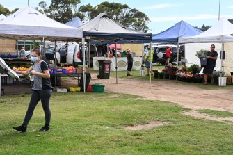 Warriewood Farmers Markets closed in response to the local outbreak.