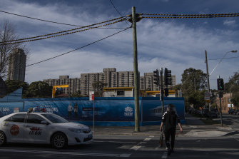 Thousands of private, social and affordable homes are being built around the Waterloo metro station, which triggered plans to redevelop the thriving suburb.