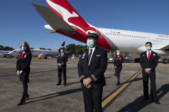 Qantas says there is big pent-up demand for international travel.