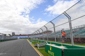 The grand prix was called off in Melbourne last year due to the coronavirus pandemic.