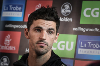 Collingwood skipper Scott Pendlebury has missed two training sessions and has been quarantined with flu-like symptoms.