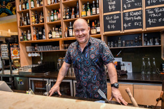 Bendigo Tourism Board chairman Finn Vedelsby lost 20 per cent of bookings at his venue one night when he told patrons they'd need to show ID.