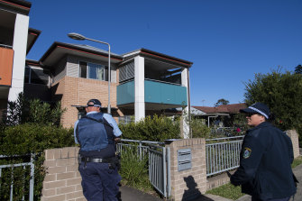 A crime scene has been established at the Lurnea address.